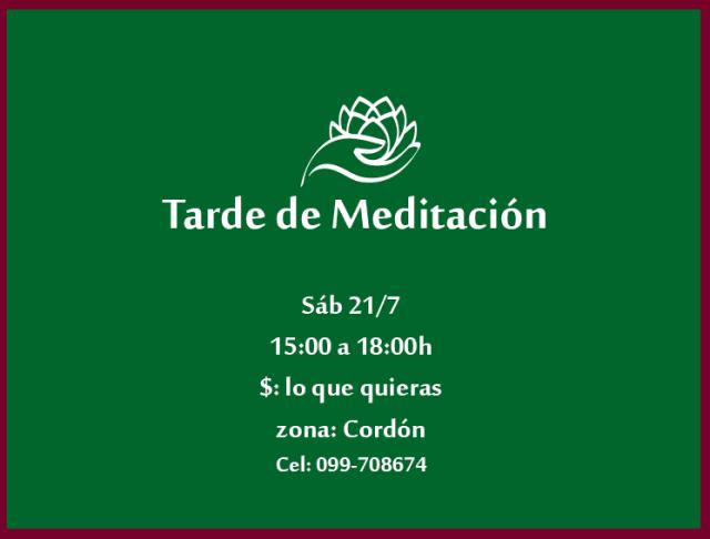 tarde de meditación 2