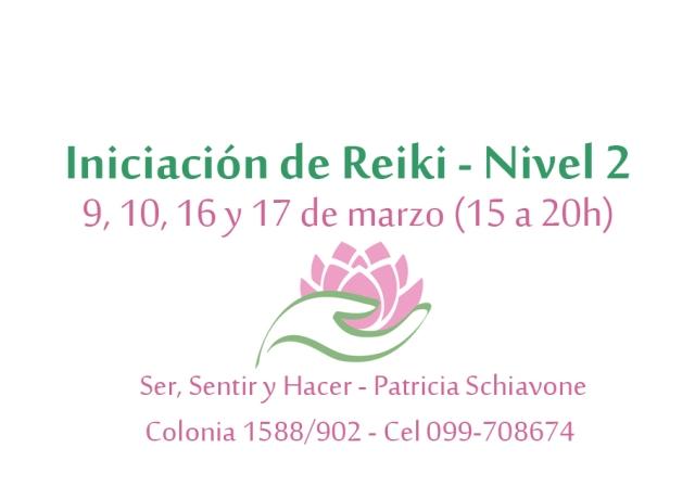 Iniciación Reiki N 2 marzo