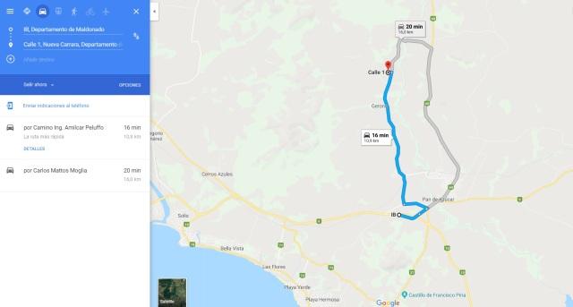 De ruta 9 plano general