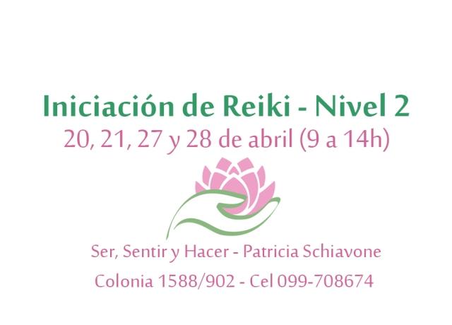 Iniciación Reiki N 2 abril