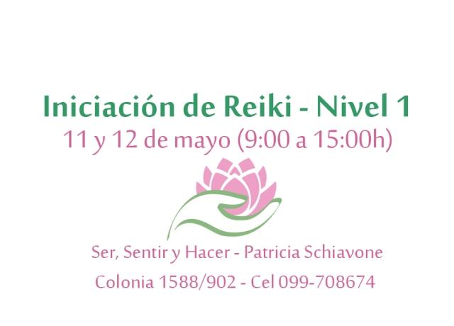 Iniciación Reiki N 1 - 11 y 12 de mayo jpg