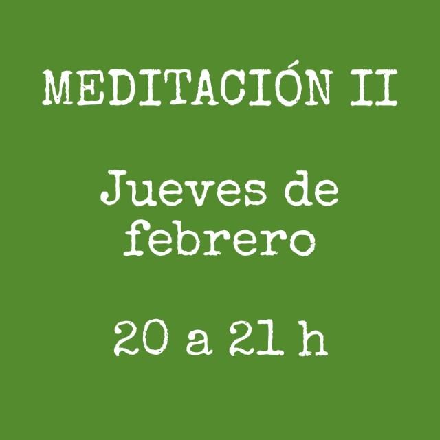 Meditación avanzada